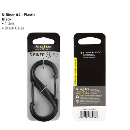 S-Biner Plastic maat 4