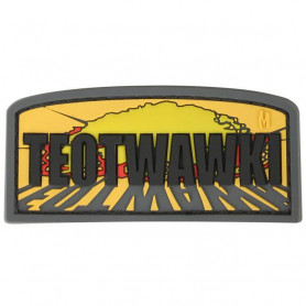 Maxpedition TEOTWAWKI badge- color