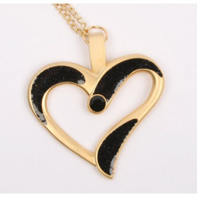 Eternal Love Geocoin - A Gift of Love edition - Satin gold /schwarz