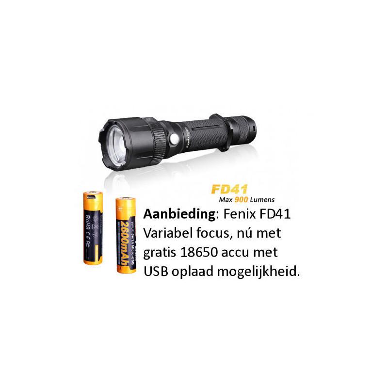 Fenix FD41 Taschenlampe