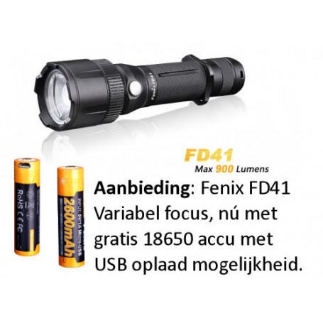 Fenix FD41 Taschenlampe - 18650 set