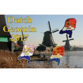 Geocoin Tableau Dutch Geocoin 2017
