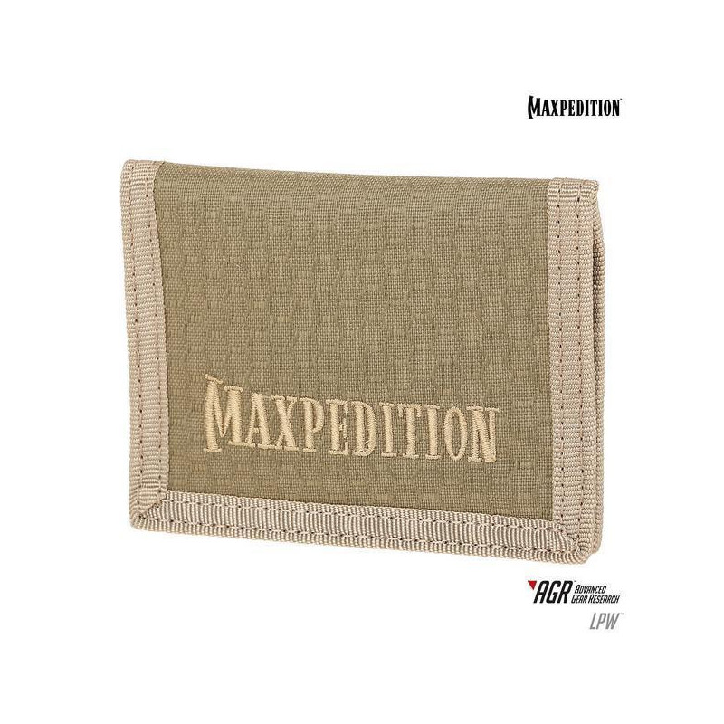 Maxpedition - Wallet AGR Low Profile - Tan