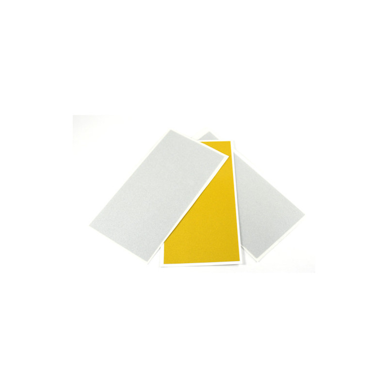 Reflector Foil set 2xsilver and 1x yellow