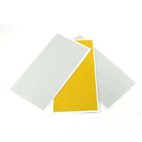 Reflector Foil 3 stuks (100x50mm) 2xzilver en 1xgeel