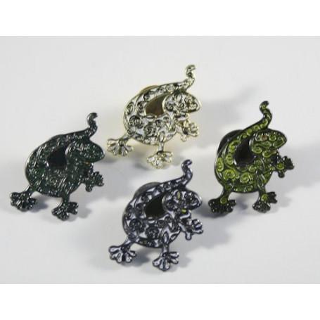 Gecko Pin - set von 4