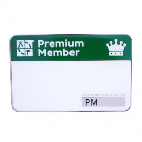 The PM collection Trackable Name Tag