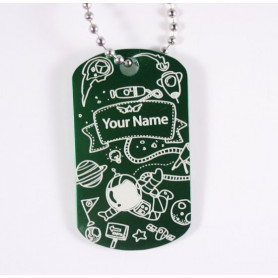 Planetary Tag - Personalised