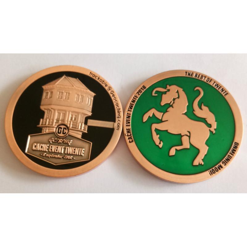CET2018 - Geocoin Antique Copper