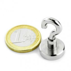 1pcs 16 mm Neodym Magnet with hook