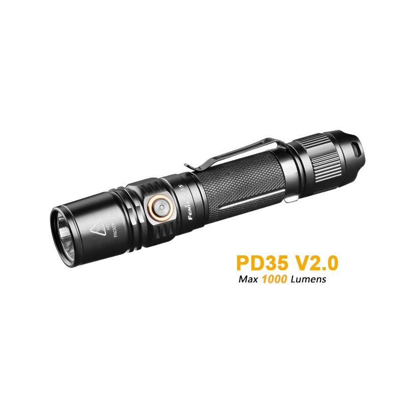 Fenix PD35 - XM-L Hi V2 - 1000 Lumen