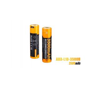 Fenix 18650 accu - 3500mAh USB
