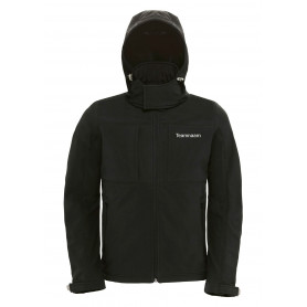 Geocaching Jas softshell met muts - Heren
