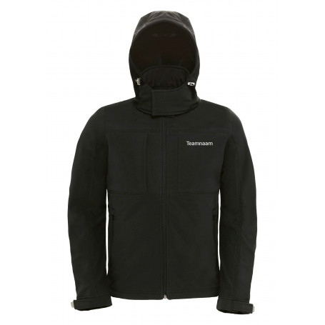 Geocaching Jacket softshell hooded - Herren