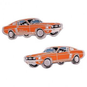 Ford Mustang Geocoin - Oranje