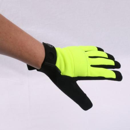 Geodox handschoen geel - tech
