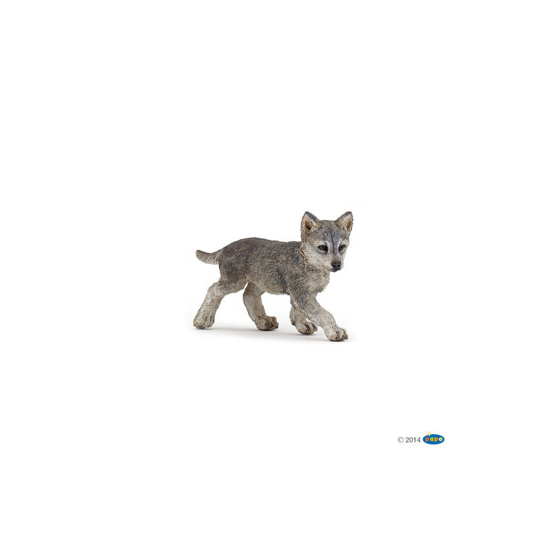 Trackable Animal - Wolf cub