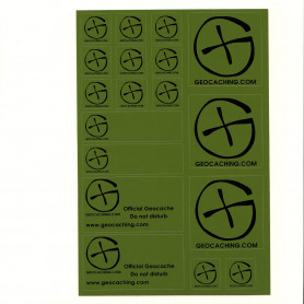 Stickervel A5 - Groen
