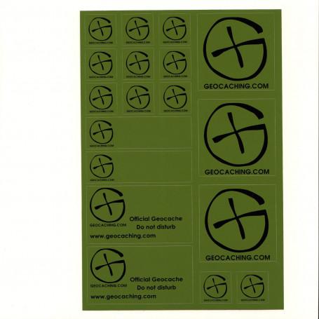 Stickersheet A5 - Green