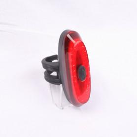 Fiets achterlicht, oplaadbaar met sensor