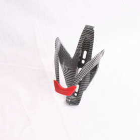 Bike bottleholder carbon - red