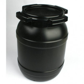 Curtec container 6 liter, zwart