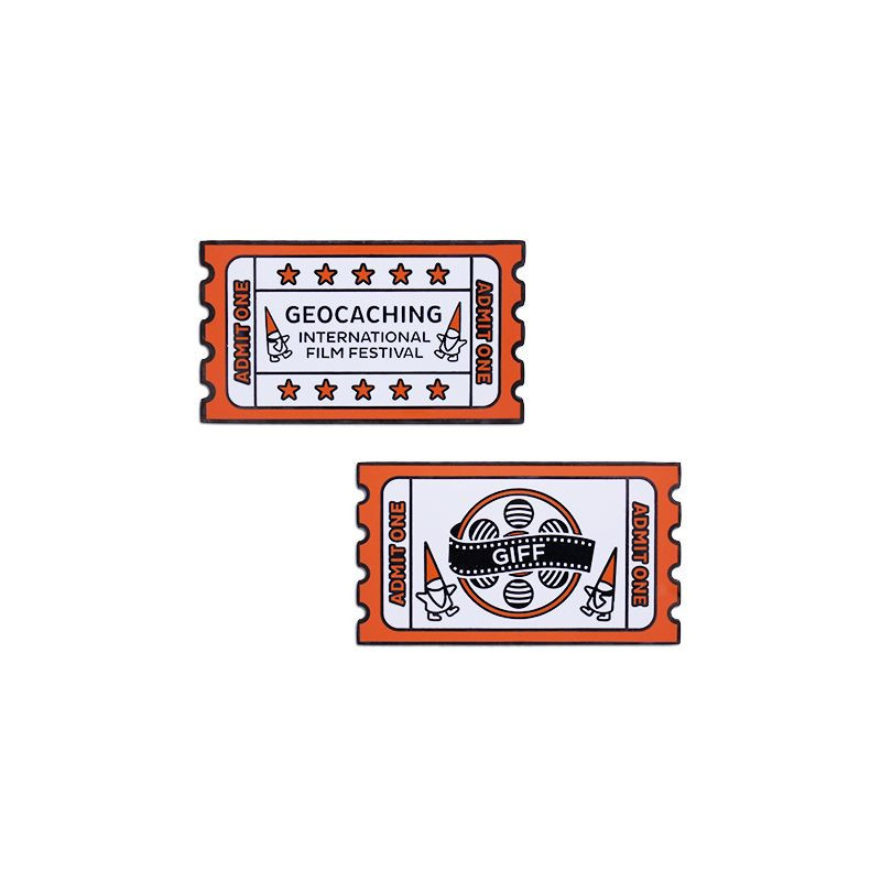 2019 GIFF Geocoin and companion Tag set