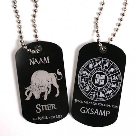 Zodiac Tag - Personalised