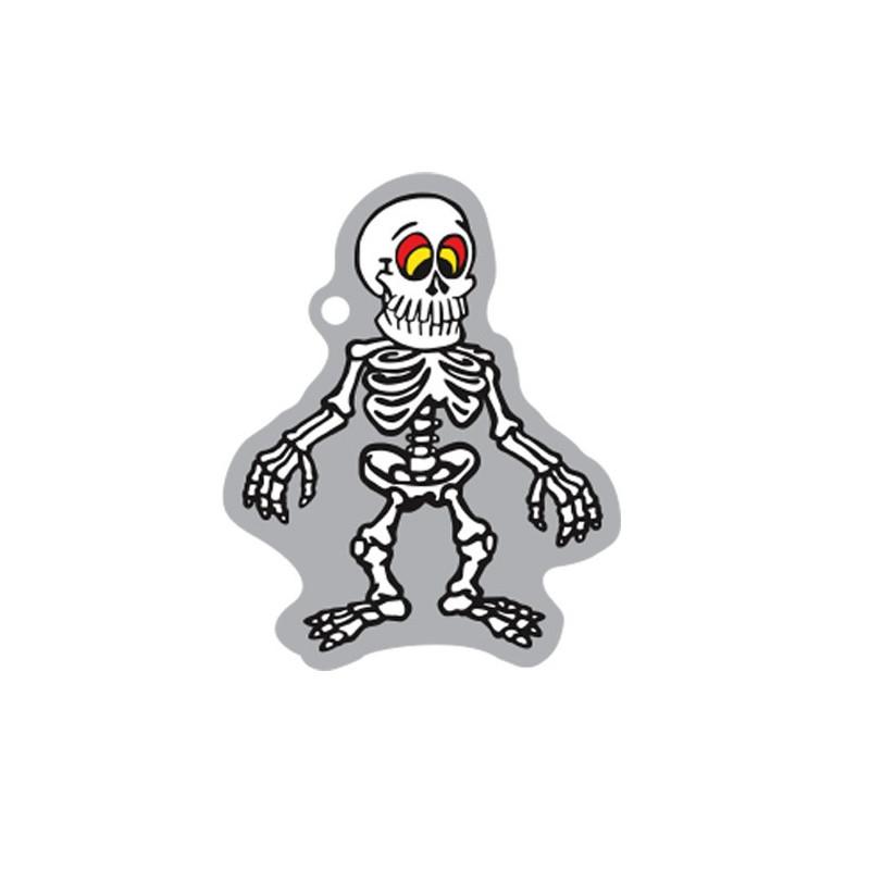 Halloween - Shakes the Skeleton travel tag