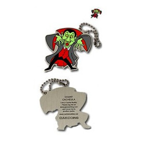 Halloween - Count Cacheula travel tag
