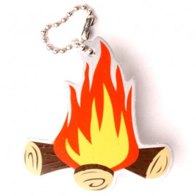 Travel Tag Blaze the campfire
