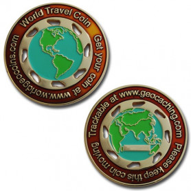 World Traveler Geocoin