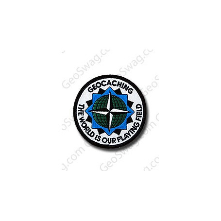 Badge The World is our Playing Field
