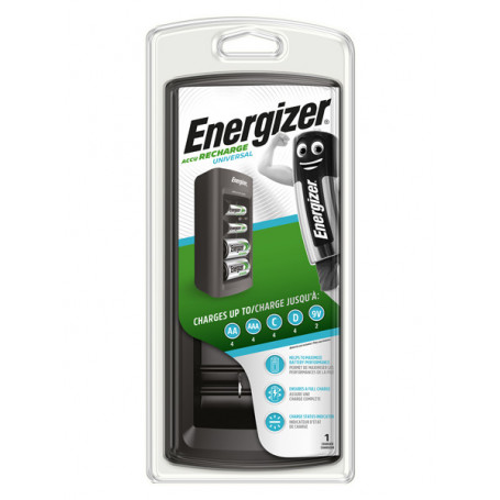 Energizer accu recharge, universal