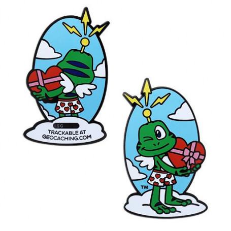 Signal the Frog - Cupido Geocoin