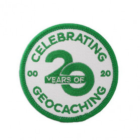 20 Years of Geocaching badge
