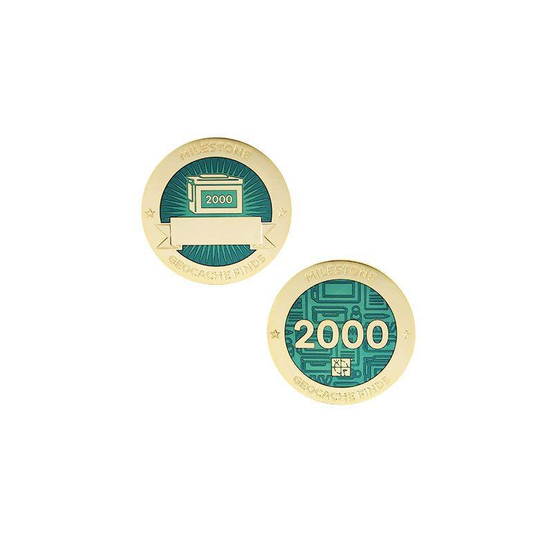 Finds - 2000 found Milestone set
