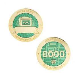 Finds - 8000 found Milestone set