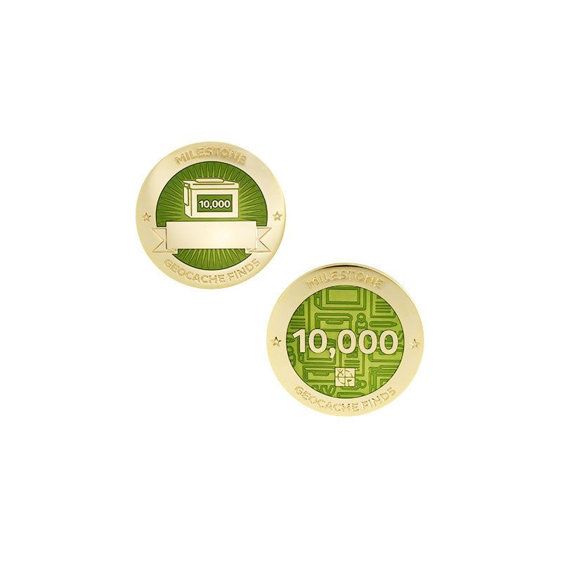 Finds - 10.000 found Milestone set