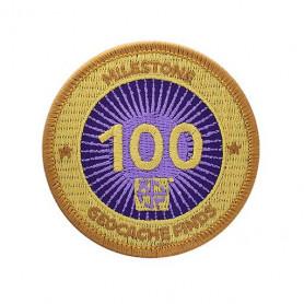 Milestone Badge - 100 Finds