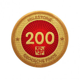 Milestone Badge - 200 Finds