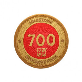 Milestone Patch - 700 Finds