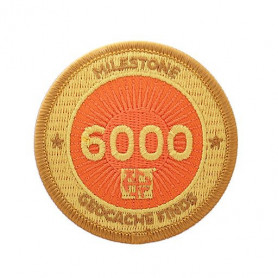Milestone Patch - 6000 Finds