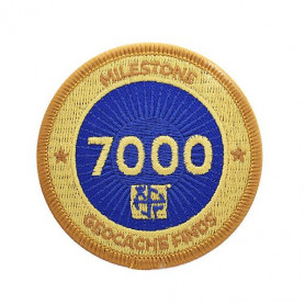 Milestone Patch - 7000 Finds