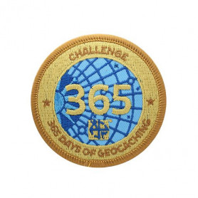 Challenge Badge - 365 Days of Geocaching