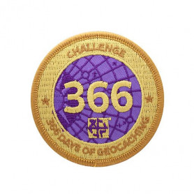 Challenge Badge - 366 Days of Geocaching