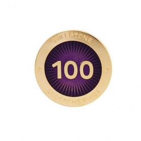 Milestone Pin - 100 Finds