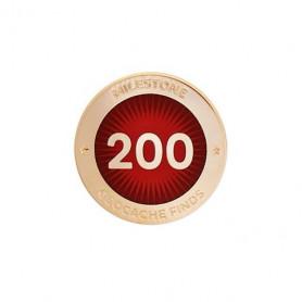 Milestone Pin - 200 Finds