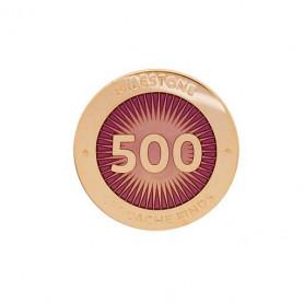 Milestone Pin - 500 Finds
