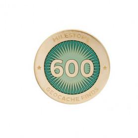 Milestone Pin - 600 Finds